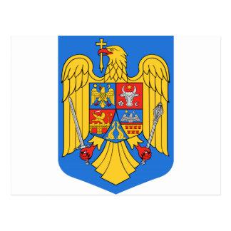 Romania Coat of Arms Postcard