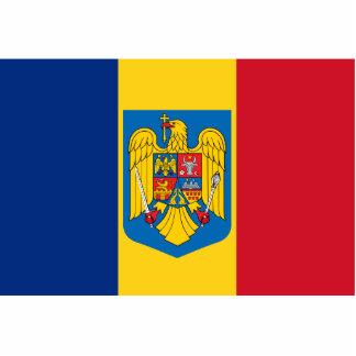 Romania Coat Of Arms, Republic of the Congo Standing Photo Sculpture