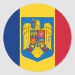Romania Coat Of Arms, Republic of the Congo Round Stickers