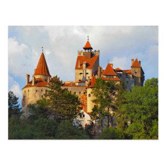 Romania, Dracula's castle, Bran, Transylvannia, Postcard