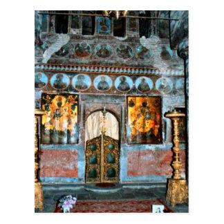 Romania, Dracula's tomb, Bran, Transylvannia, Postcard