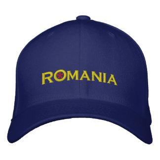 Romania Embroidered Baseball Hat