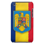 Romania Flag & Coat of Arms Barely There iPod Covers