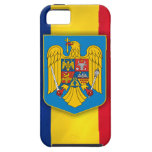 Romania Flag & Coat of Arms iPhone 5 Cover