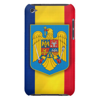 Romania Flag & Coat of Arms iPod Touch Case-Mate Case