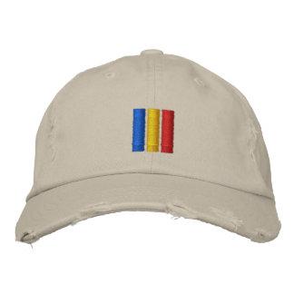 Romania Flag Embroidered Baseball Hat