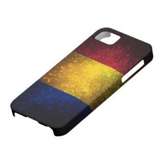 Romania Flag Firework iPhone 5 Cover