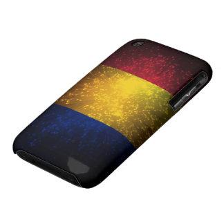 Romania Flag Firework iPhone 3 Covers