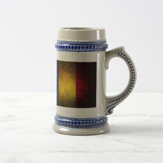 Romania Flag Firework Coffee Mug