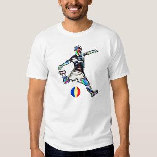 Romania flag football soccer jersey t-shirt