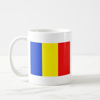 Romania Flag ~ Map Mug