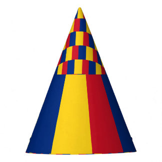 Romania Flag Party Hat