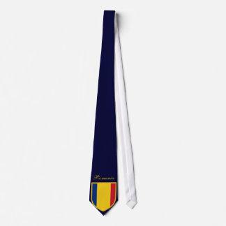 Romania Flag Personalized Tie