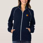 Romania Flag Printed Jacket