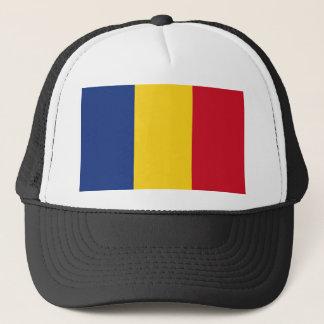 Romania Flag Trucker Hat