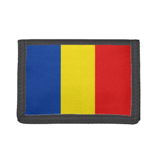 Romania Flag Wallet