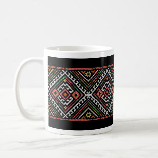 romania folk symbol popular motif costume balcans coffee mug