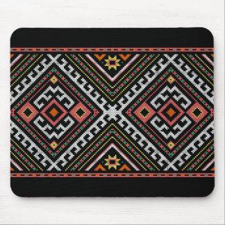 romania folk symbol popular motif costume balcans mouse pad