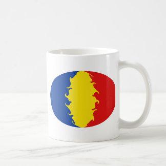 Romania Gnarly Flag Mug