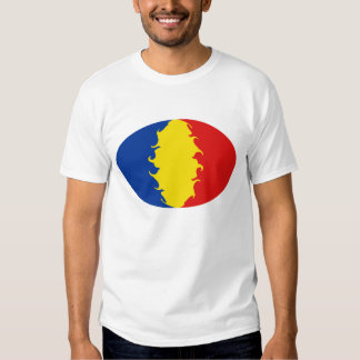 Romania Gnarly Flag T-Shirt