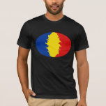 Romania Gnarly Flag T-Shirt