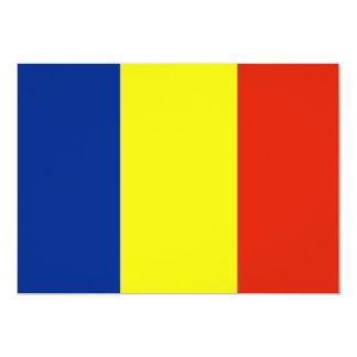 Romania 5x7 Paper Invitation Card