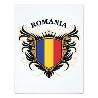 Romania 4.25x5.5 Paper Invitation Card