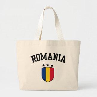 Romania Jumbo Tote Bag