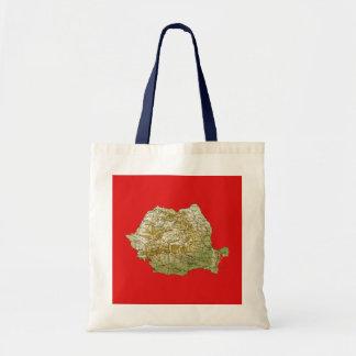 Romania Map Bag