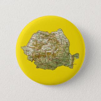 Romania Map Button