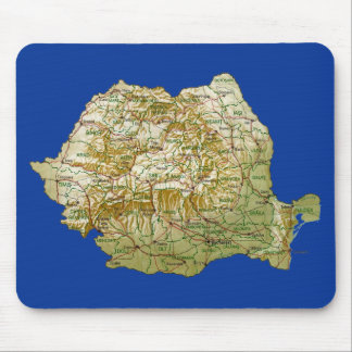 Romania Map Mousepad