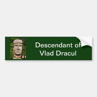 Romania, Meet Vlad Dracul Bumper Sticker
