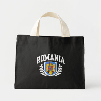 Romania Mini Tote Bag
