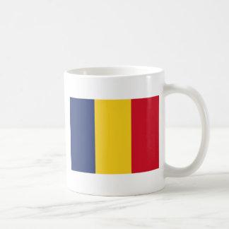 Romania Classic White Coffee Mug