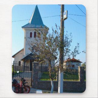 Romania, Orthodox village church Mouse Pad