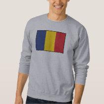Romania Plain Flag Sweatshirt