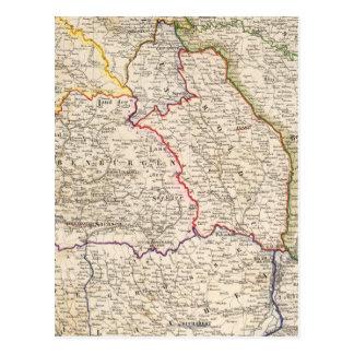 Romania, Poland Postcard
