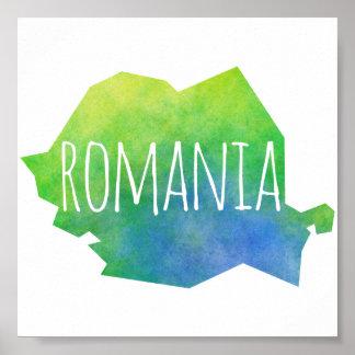 Romania Poster