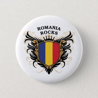 Romania Rocks Button