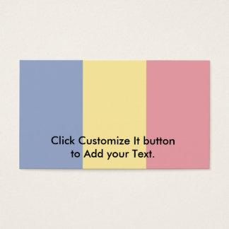Romania, Romania flag Business Card