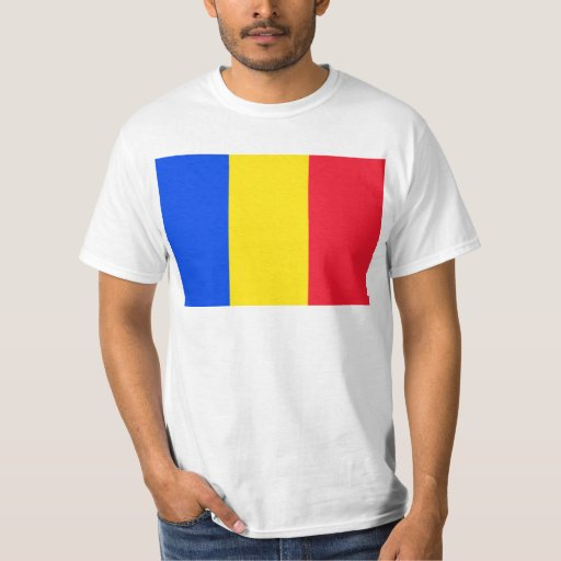 Romania, Romania flag T-shirt