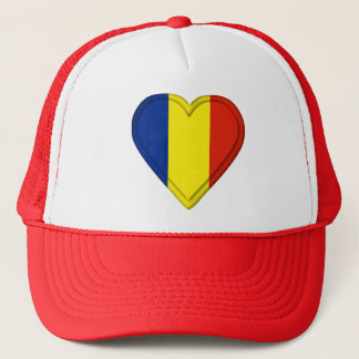 Romania Romanian Flag Trucker Hat