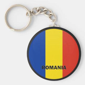 Romania Roundel quality Flag Key Chains
