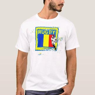 Romania Rugby Fans T-Shirt Pass Ball