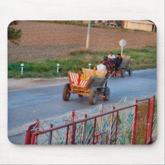 Romania, Rush hour Mouse Pad