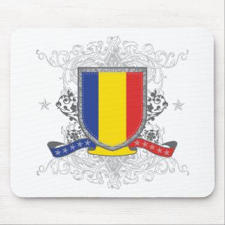 Romania Shield Mouse Pad