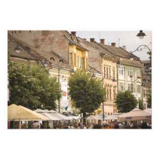 Romania, Sibiu. New Town. RF) Photo Print