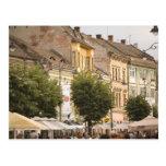 Romania, Sibiu. New Town. RF) Post Cards