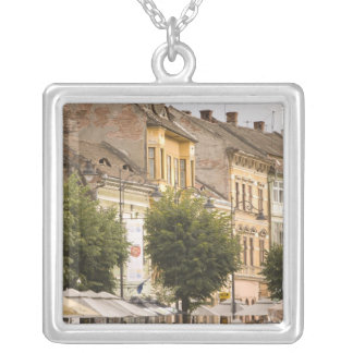 Romania, Sibiu. New Town. RF) Silver Plated Necklace