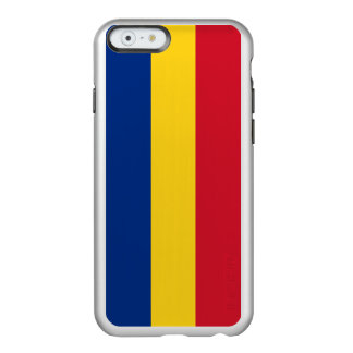 Romania Silver iPhone Case